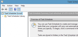 Run a Batch file using Task Scheduler on a Terminal Server