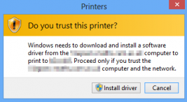 Group Policy Printer Issue – Print and Point Restrictions – KB3170455