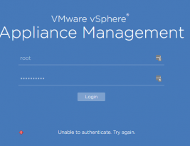 Reset VCenter 6.5 Appliance Management Password