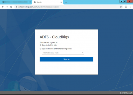 Active Directory Federation Services – Part 2 (Customization)
